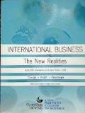 Second Edition for GSU BUSA 3000 International Business - The New Realities (Globalization a...