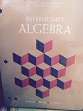 Intermediate Algebra with Geometry Supplement (Fourth Custom Edition For Wilbur Wright College)