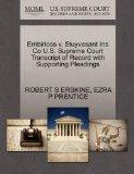 Embiricos v. Stuyvesant Ins Co U.S. Supreme Court Transcript of Record with Supporting Plead...