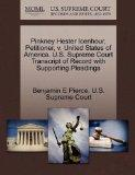 Pinkney Hester Icenhour, Petitioner, v. United States of America. U.S. Supreme Court Transcr...