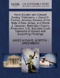 Harry Eleuteri and Edward Danley, Petitioners, v. David D. Furman, Attorney General of the S...