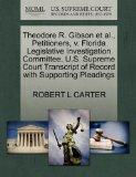 Theodore R. Gibson et al., Petitioners, v. Florida Legislative Investigation Committee. U.S....