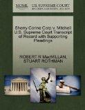 Sherry Corine Corp v. Mitchell U.S. Supreme Court Transcript of Record with Supporting Plead...