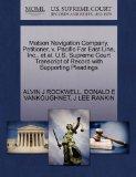 Matson Navigation Company, Petitioner, v. Pacific Far East Line, Inc., et al. U.S. Supreme C...