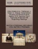 Hilton Hotels et al., Petitioners, v. Robert C. Weaver, Administrator, Housing and Home Fina...