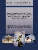 Davis (Joseph) v. American Export Isbrandtsen Lines Inc U.S. Supreme Court Transcript of Rec...