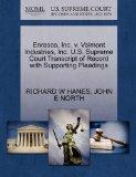 Enresco, Inc. v. Valmont Industries, Inc. U.S. Supreme Court Transcript of Record with Suppo...
