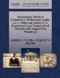 Associated General Contractors of Massachusetts, Inc. v. Altshuler (Alan) U.S. Supreme Court...