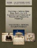 Boehning v. Indiana State Emp. Ass'n, Inc. U.S. Supreme Court Transcript of Record with Supp...