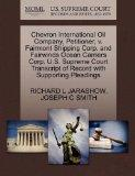 Chevron International Oil Company, Petitioner, v. Fairmont Shipping Corp. and Fairwinds Ocea...