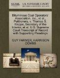 Bituminous Coal Operators' Association, Inc., et al., Petitioners, v. Thomas S. Kleppe, Secr...