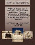 Andrew Schepici, Joseph Mastrullo, John Bradanese and Charles Palazzolo, Petitioners, v. Uni...