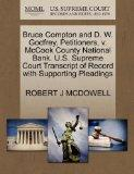 Bruce Compton and D. W. Godfrey, Petitioners, v. McCook County National Bank. U.S. Supreme C...
