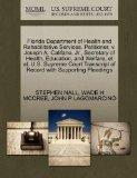 Florida Department of Health and Rehabilitative Services, Petitioner, v. Joseph A. Califano,...