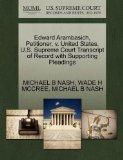Edward Arambasich, Petitioner, v. United States. U.S. Supreme Court Transcript of Record wit...