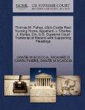Thomas M. Fahey, d/b/a Castle Rest Nursing Home, Appellant, v. Charles J. Hynes, Etc. U.S. S...