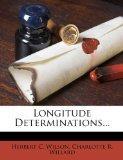 Longitude Determinations...