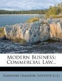 Modern Business: Commercial Law...