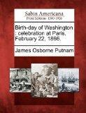 Birth-day of Washington: celebration at Paris, February 22, 1866.