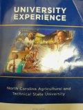University Experience: North Carolina Agricultural and Technical State University 2012-2013
