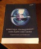 Strategic Management: Concepts and Cases Competitiveness and Globalization (12th edition)