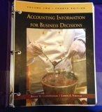 Accounting Information for Business Decisions, Volume Two, Fourth Edition