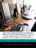 Process Management and Memory Management in an Operating System Including Basic Concepts, Cp...