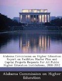 Alabama Commission on Higher Education Report on Facilities Master Plan and Capital Projects...