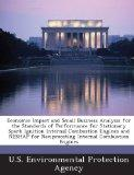 Economic Impact and Small Business Analysis for the Standards of Performance for Stationary ...