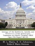 Geology of the Ducktown, Isabella, and Persimmon Creek quadrangles, Tennessee and North Caro...