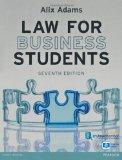Law for Business Students premium pack