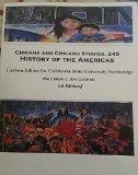 Chicana and Chicano Studies, 245 History of the Americas