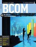 Bundle: BCOM 6 (with CourseMate Printed Access Card), 6th + Aplia(TM) with Cengage Learning ...