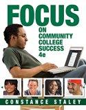 Bundle: FOCUS on Community College Success, 4th + MindTap College Success, 1 term (6 months)...