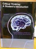 Critical Thinking : A Student's Introduction 5th Edition