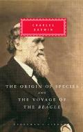 Origin of Species and the Voyage of the Beagle And, the Voyage of the Beagle