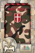 Kids Compact Bible Pink Camouflage