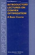 Introductory Lectures on Convex Optimization Basic Course