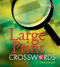 Large Print Crosswords