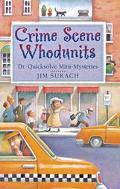 Crime Scene Whodunits Dr. Quicksolve Mini-Mysteries
