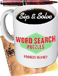 Sip & Solve Word Search Puzzles