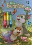 Bunny Fun! [With 3 Jumbo Crayons] (Disney Bunnies)