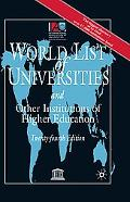 World List of Universities and Other Institutions of Higher Education