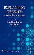 Explaining Growth A Global Research Project