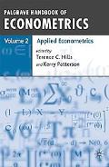 Palgrave Handbook of Econometrics: Volume 2: Volume 2: Applied Econometrics