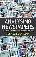 Analysing Newspapers An Approach from Critical Discourse Analysis