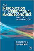 Introduction to International Macroeconomics Theory, Policy and Applications