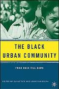 Black Urban Community From Dusk Till Dawn