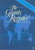 The Grants Register 2009: The Complete Guide to Postgraduate Funding Worldwide