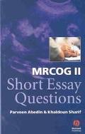 Mrcog II Short Essay Questions